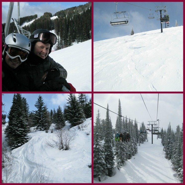 Ski lift Collage